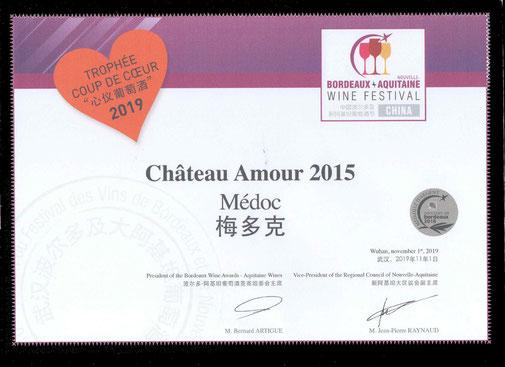 Bordeaux wine festival coup de cœur 2015
