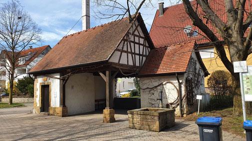 S'Backhäusle in Eschenbach...