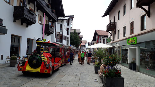 St. Johann in Tirol, Fußgängerzone