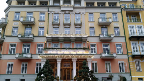 Eingang Hotel Pawlik - Aquaforum