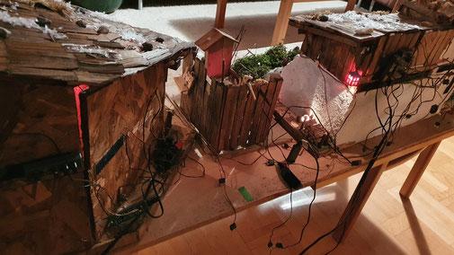 Ok - mit den Kabeln habe ich noch meine Probleme...