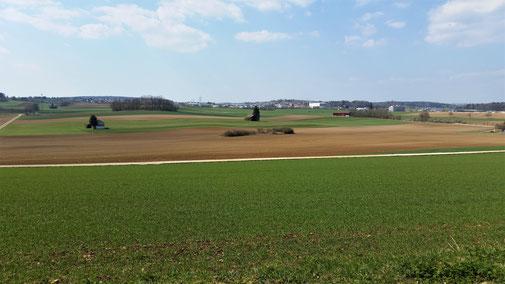 Blick in Richtung Laichingen...