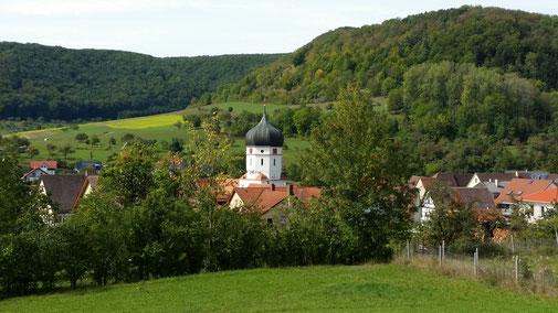 Dorfkirche von Unterböhringen