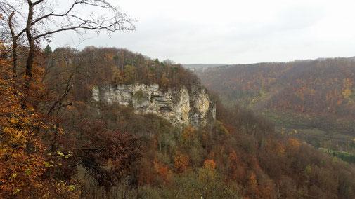 Blick zurück zum Geiselstein...