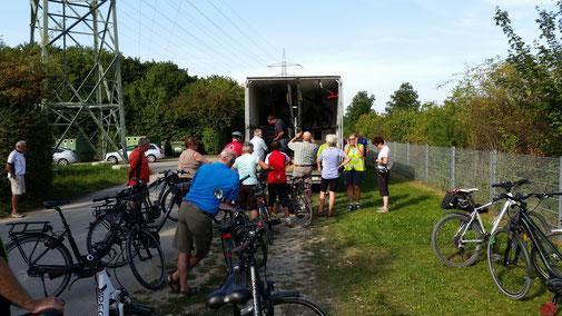 Sportpark Neufinsing, Ende der Tagestour - leider...