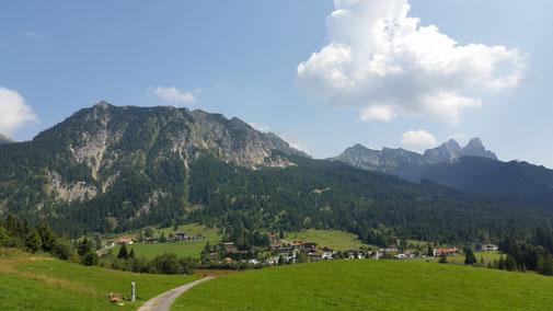 Tannheimer Tal, Blick gen Osten...
