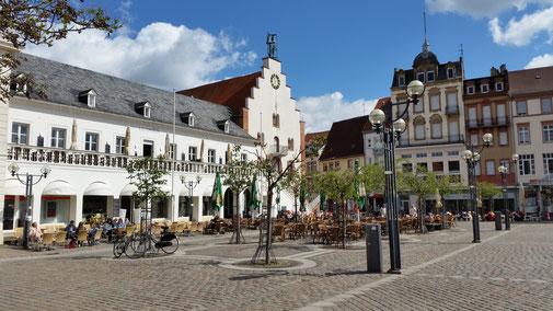 Landau, Marktplatz