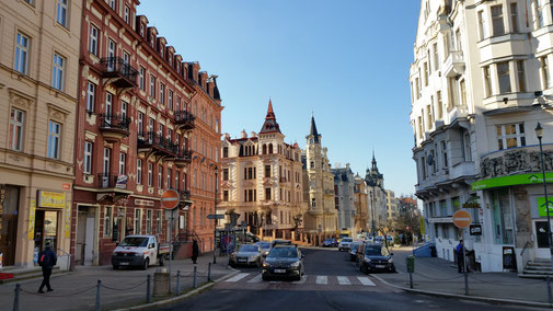 Durch einen Brand im Sommer 1604 fast vollkommen zerstört, erstrahlt Karlsbad heute prunkvoller denn je...