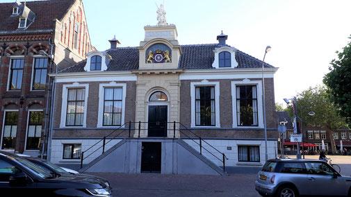Das Rathaus von Wageningen