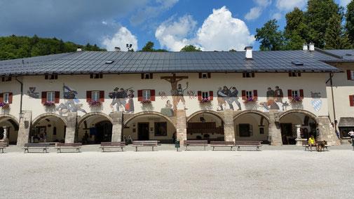 Berchtesgaden erinnert an die Gefallenen...