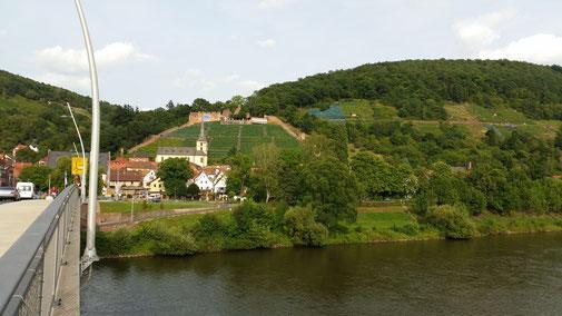 Blick auf Klingenberg...