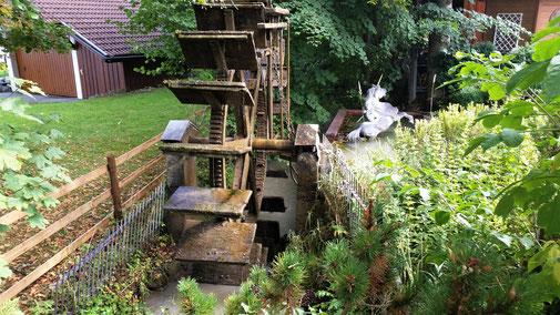 Eine alte Mühle in Pfronten...