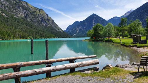 Blick auf den Heiterwanger See...