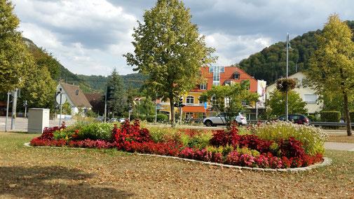 Blumenbeet in Bad Ditzenbach - einfach schön