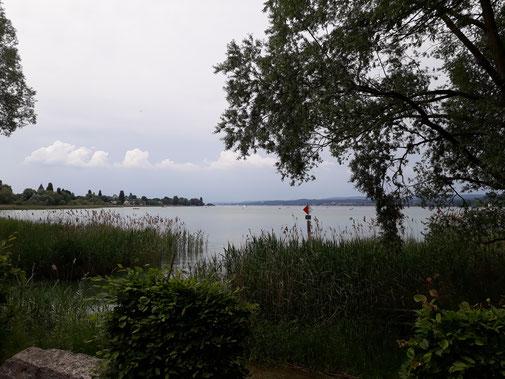 Der Blick auf den See lässt die Seele baumeln...