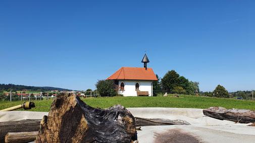 Die Schutzengelkapelle...