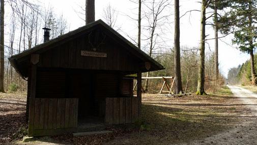 Steigleshauhütte Richtung Heroldstadt. Schade, dass es nix Flüssiges gibt...