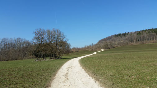 Auf dem Weg zum Kornberg