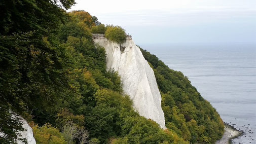 Blick von der Victoria-Sicht auf den Königsstuhl