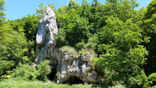 Das Fohlenhaus im Lonetal