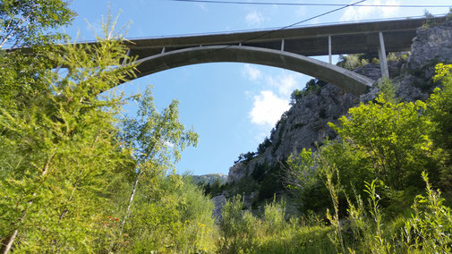 Gemstalbrücke am Gaichtpaß...