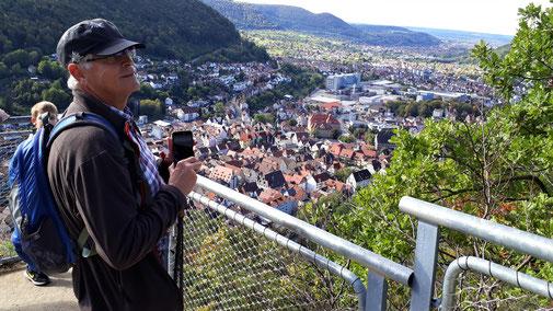Blick von der Aussichtsplattform beim Ödenturm...