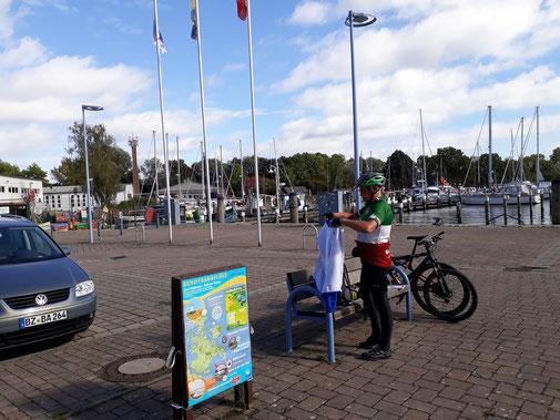 Der Hafen in Lauterbach, es ist nicht mehr weit nach Putbus...