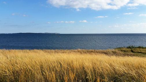 ...und die Ostsee ebenfalls... obwohl ich manchmal in ihrer Nähe fast vom Rad geblasen werde...