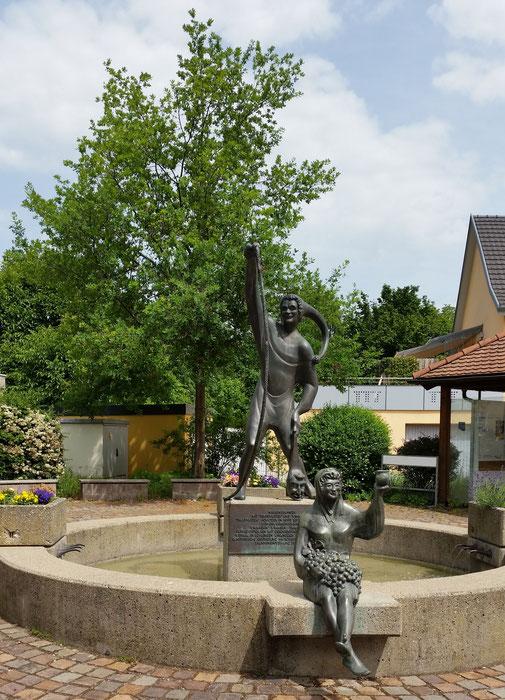 Am Wegesrand ein Narrenbrunnen...