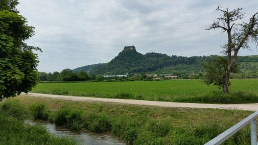 Blick auf den Hohenkrähen (644 m))...