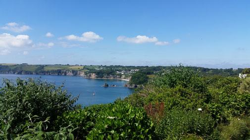 Das Panorama ist heute echt herrlich...