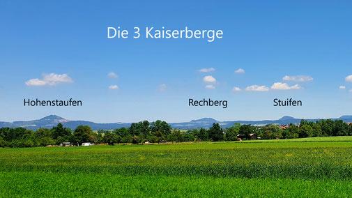 Die 3 Kaiserberge...