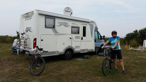 Campingplatz bei Weberstedt...