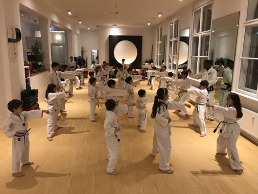 Altersgerechter Kampfkunst-Unterricht im Taekwondo-Institut Berlin