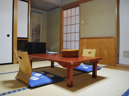 8畳の和室角部屋