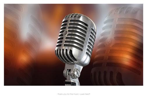 Deko Bild  »thank you for the music« no. music 009P