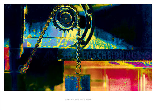 Deko Bild  »Static but alive« no. stba 045P