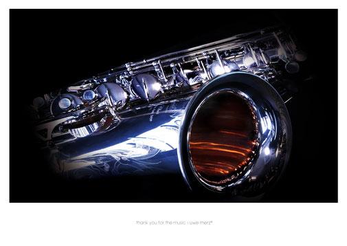 Deko Bild  »thank you for the music« no. music 012P