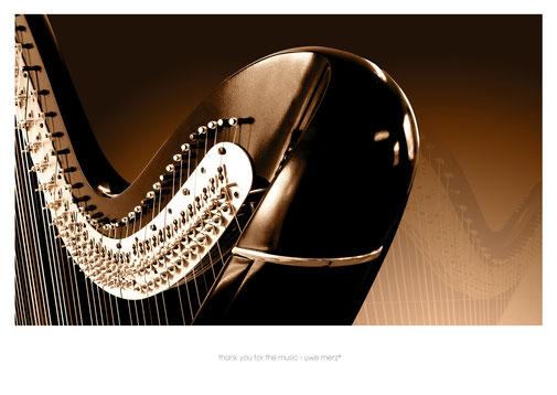 Deko Bild  »thank you for the music« no. music 004P