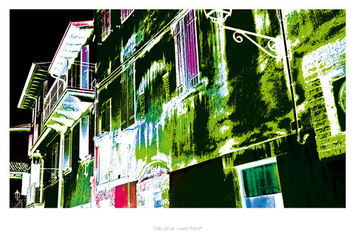 Deko Bild  »Italy alive« PopArt Style no. italy 024P