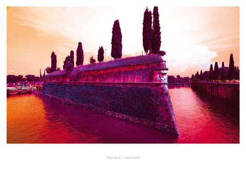 Deko Bild  »Italy alive« - PopArt Variante no. italy 022P