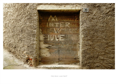 Deko Bild  »Italy alive« - PopArt Variante no. italy 088P