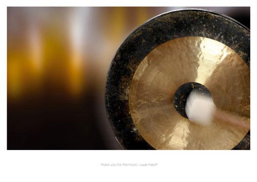 Deko Bild  »thank you for the music« no. music 007P