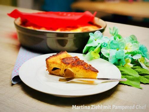 #pamperedchef_kuchen #schwedischer_birnenkuchen #martina_ziehl #zauberhafte_leckereien #stoneware #backen_ist_liebe #neu_pamperedchef