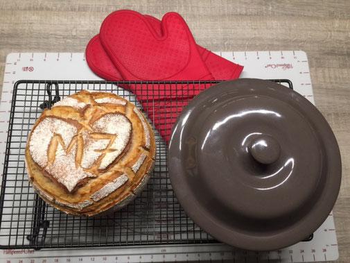 Brot Rezept für den runden Zaubermeister von Pampered Chef. Brot selber backen im Zaubermeister. Martina Ziehl Beraterin mit Shop zum einkaufen