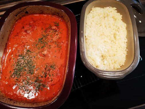Filettopf Schmortopf aus dem Ofenmeister/ehemals Zaubermeister mit Reis aus dem kleinen Zaubermeister