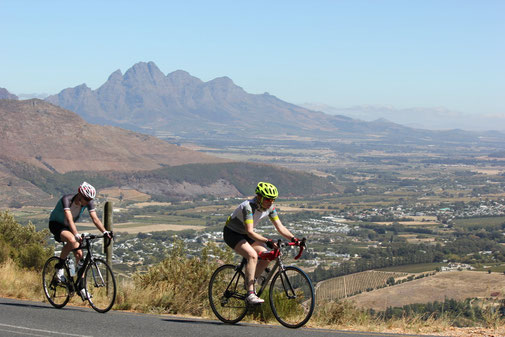 Cycling Tours South Africa - Road Cycling Stellenbosch