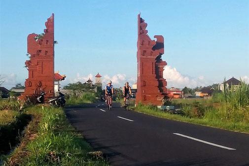 Rennradreisen auf Bali
