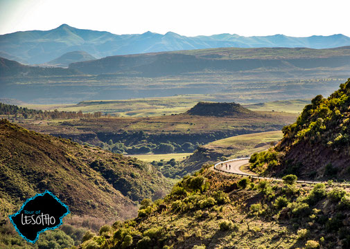 Rennradreise im Königreich Lesotho