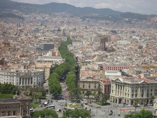 Барселона - бульвар Рамбла